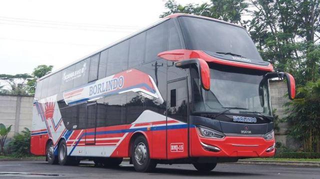 Bus Borlindo Makassar