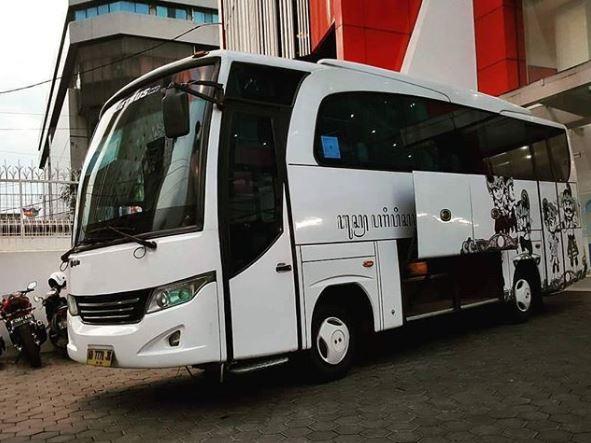 Bus joglosemar Jogja Solo Semarang