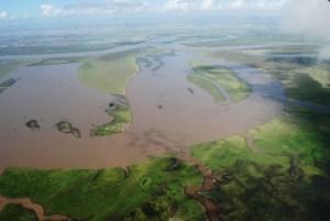 Fitzroy River Delta in Flood