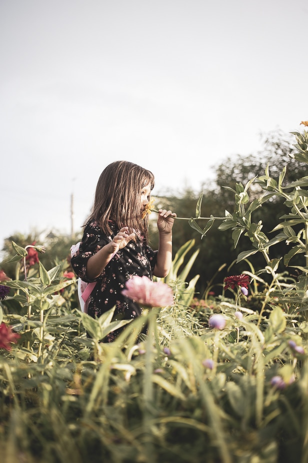 keppe photography | okinawa | flowers | girl | kid