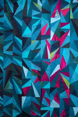 Shards of Teal and Fuchsia, Gerrie Kennedy and Tessa Atwood