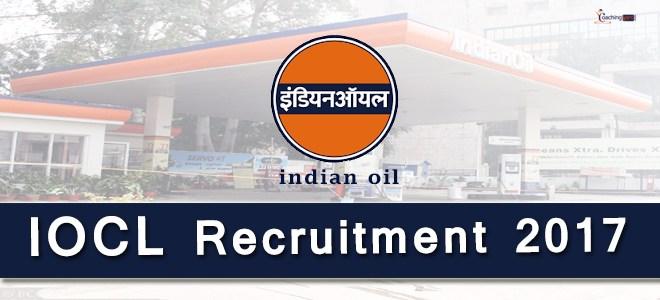 IOCL Recruitment 2017