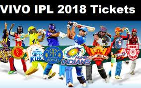 IPL 2018 Online Ticket