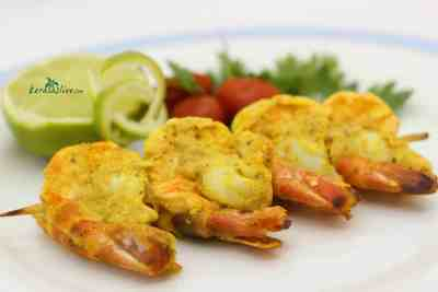 keralas spicy grilled prawns recipe