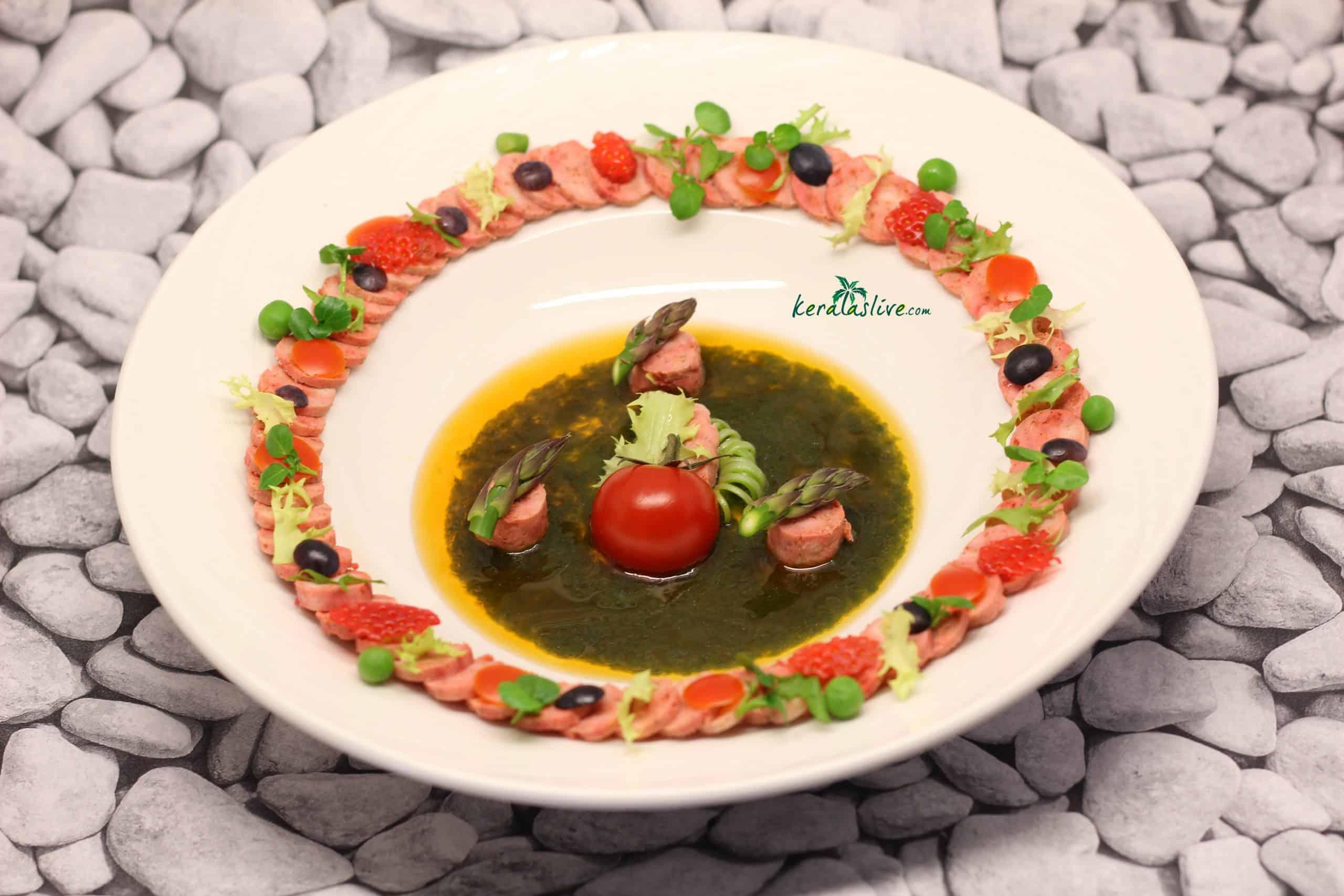 how to make Tandoori chicken salad