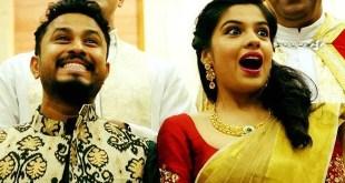 Archana Kavi - Abish Mathew Engagement Photos