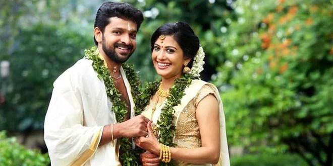 Actress Shivada Nair weds Murali Krishnan