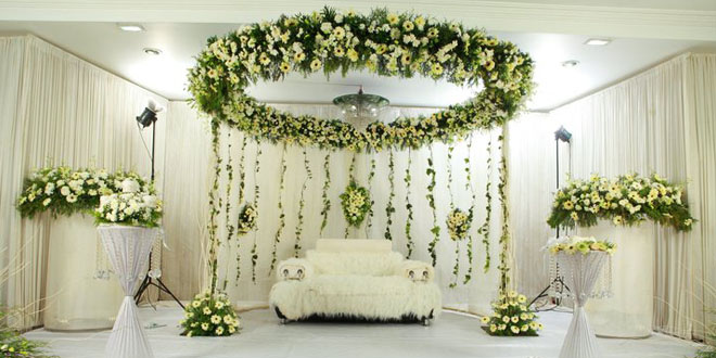 Myriad of services availed from kerala wedding stage decoration kerala wedding stage decoration junglespirit Image collections