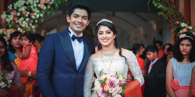Actress Aima Sebastian Wedding Photos