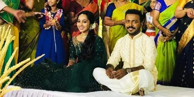 Malayalam Actor Vishnu Unnikrishnan Engagement Photos