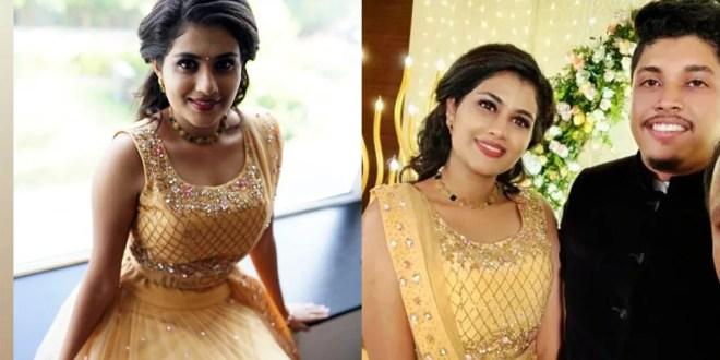 Actress Alina Padikkal Engagement Photos