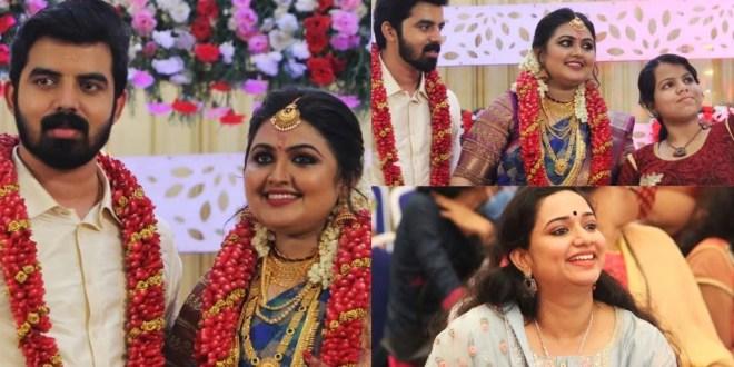 Serial Actress Meera Muralidharan Marriage