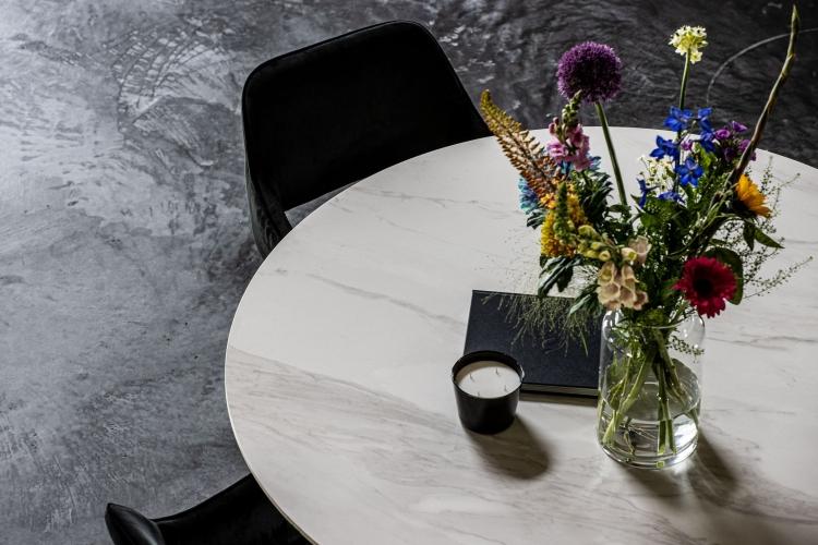 Keramische tafels Calacatta Ella Rond