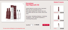 Keranique Hair Regrowth Kit