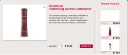 Keranique Volumizing Keratin Conditioner