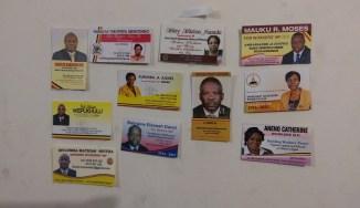Die KandidatInnen, die zur Wahl der 5 ArbeiterInnensitze antreten