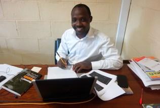 Doktorand Gerald Walulya
