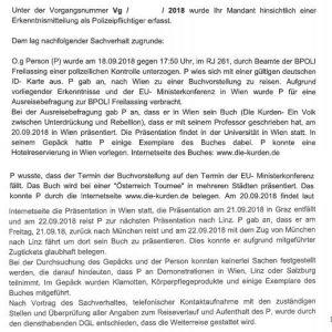 Überwachung in Deutschland – ein persönliches Erlebnis
