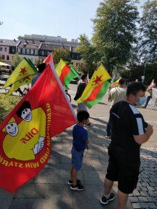 """""""Stoppt den Krieg gegen Kurdistan""""-Rede"""