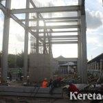 Pengerjaan Proyek Sky Bridge Solo Balapan-Tirtonadi Dikebut