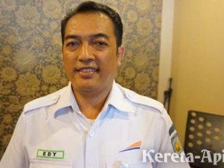 Senior Manajer Humas PT KAI Daop I Jakarta, Edy Kuswoyo - berita.suaramerdeka.com
