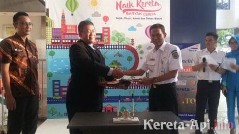 Executive Vice President PT KAI DAOP 8 Surabaya, Andhika Tri Putranto - www.kabarbisnis.com