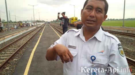 Gatut Sutiyatmoko, Manager Humas PT KAI Daop 8 Surabaya - jateng.tribunnews.com