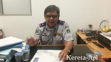 Andreas Eman, Kepala Seksi Lalu Lintas Suku Dinas Perhubungan Jakarta Timur - wartakota.tribunnews.com
