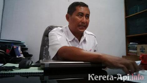 Manager Humas Daop 8 Surabaya, Gatut Sutiyatmoko - www.faktametropolis.com