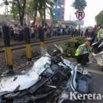 Rawan Kecelakaan, 4 Perlintasan KA di Jalan A Yani Surabaya Ditutup Permanen