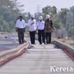Pemerintah Bakal Bangun Rel Kereta Api Ganda di Palembang