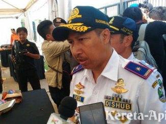 Kepala Dinas Perhubungan Jawa Barat, Dedi Taufik - jabar.tribunnews.com