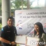 PT KAI Daop 8 Surabaya Gaet Nite & Day Hotel Beri Diskon 25% untuk Penumpang Kereta
