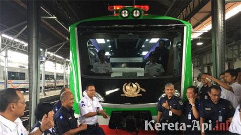 Pantau Kondisi Rel, KAI Luncurkan Kereta Inspeksi Generasi Kedua