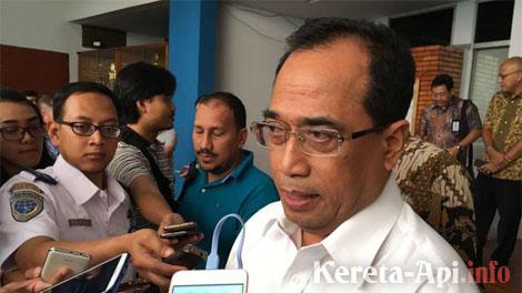 Menteri Perhubungan Budi Karya Sumadi - kompas.com
