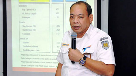 Apriyono Wedi Chresnanto, Direktur Komersial dan Teknologi Informasi PT Kereta Api Indonesia - sinarharapan.id