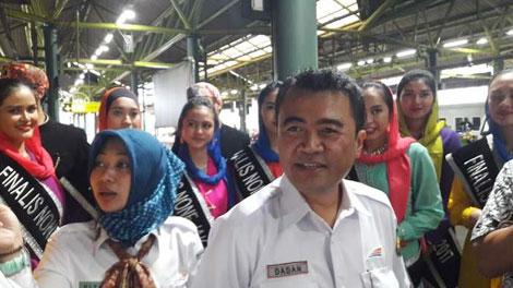 Dadan Rudiansyah, Executive Vice President PT KAI Daop 1 Jakarta - wartakota.tribunnews.com