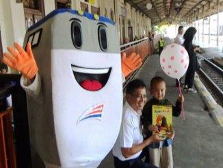 Hari Anak Nasional Di Stasiun Gubeng Surabaya - www.jpnn.com