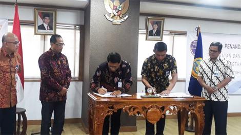 Penandatanganan kontrak IMO