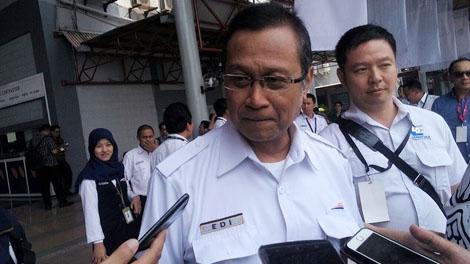 Edi Sukmoro, Direktur Utama PT KAI - economy.okezone.com