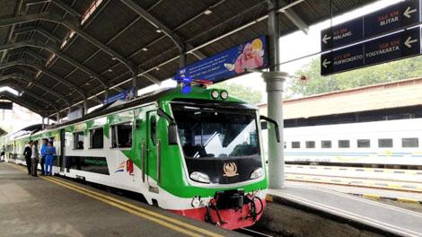 KA khusus yang digunakan untuk jelang masa angkutan Lebaran - www.antaranews.com