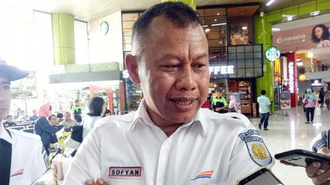 Sofyan Hasan, Deputy 1 Executive Vice President PT KAI DAOP 2 Jakarta - akurat.co