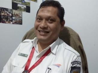 Manager Humas PT KAI Divre I Sumut M. Ilud Siregar