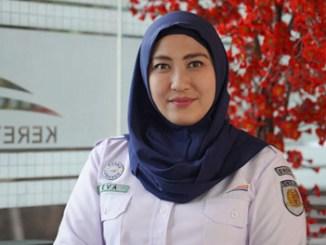 Eva Chairunisa, Senior Manager Humas Daop 1 Jakarta - www.genpi.co