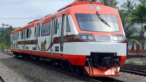 Ilustrasi Kereta Api Sumbar