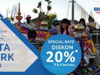 Diskon 20% Masuk Rita Park Tegal