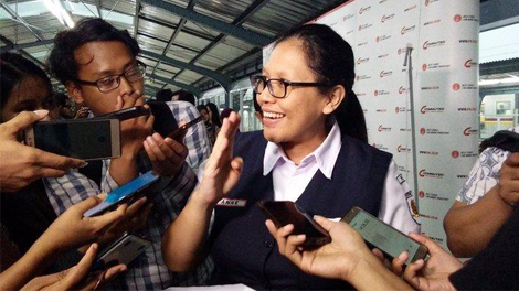 Vice President Corporate Communications PT KCI Anne Purba