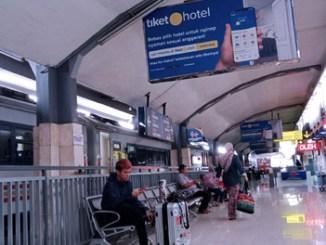 Suasana dalam Stasiun Malang - timesindonesia.co.id