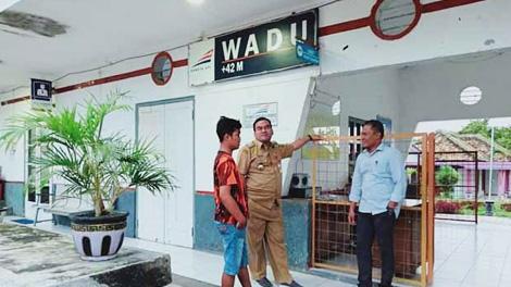 Suasana di Stasiun Wadu - iNews.TV/Taufik Budi