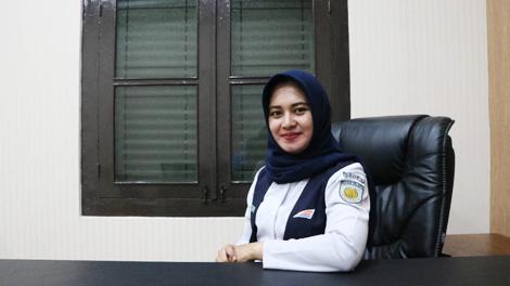 Noxy Citrea, Manajer Humas PT Kereta Api Indonesia Daerah Operasi 2 Bandung - beritabaik.id
